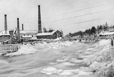 صورة مصنع شركة نوكيا سنة 1890