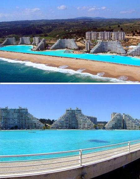 Pools photos amazing swimming pools pictures images for Biggest outdoor pool