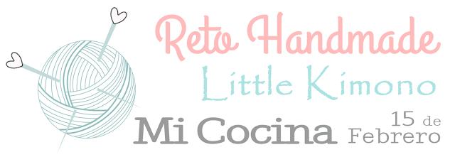Reto handmade Little Kimono: mi cocina