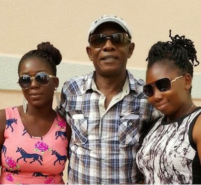 Nkem Owoh Shows Off His Daughters