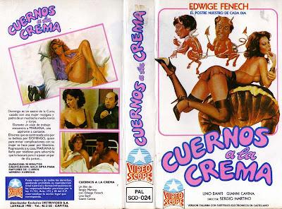 Edwige Fenech Cuernos Crema Desnuda