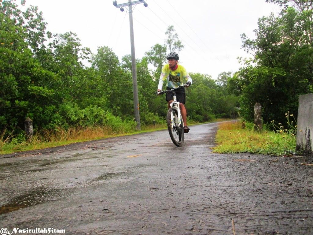 Jalanan di hutan Mangrove Karimunjawa