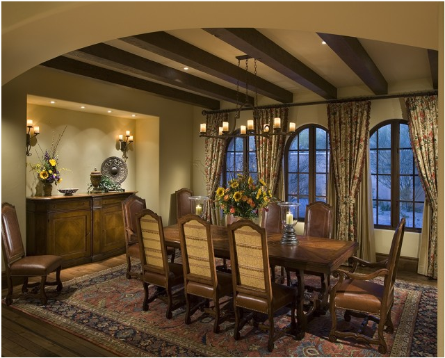 Old world dining room design ideas room design ideas Lounge dining room design ideas