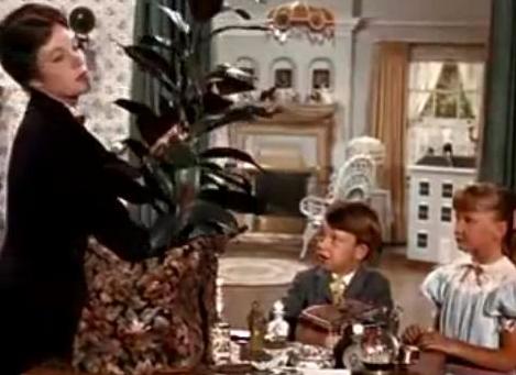 Planta sacada del bolso mágico de Mary Poppins