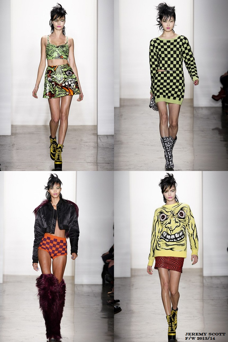 Jeremy Scott, New York Fashion Week, Fall/Winter 2013/14, NYFW
