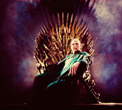 Voldemort trono de hierro - Juego de Tronos en los siete reinos