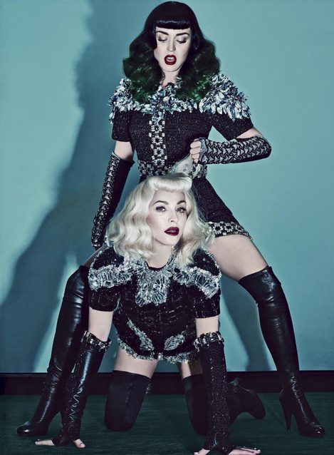 Madonna and Katy Perry Cover V89