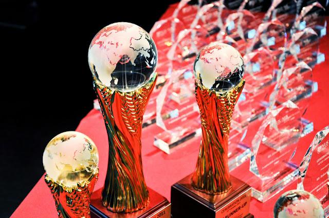 cerebration case competition trophies 2011