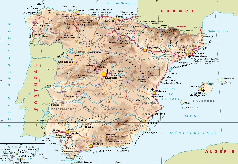 замки андалусии на карте удобный поиск