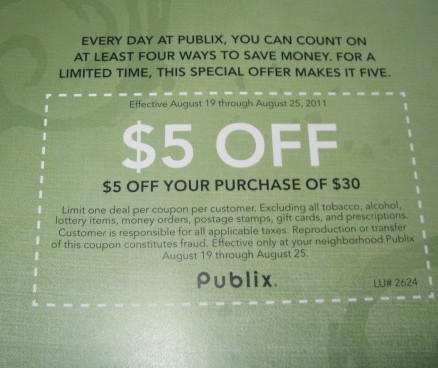 Sheikhkiran from the I Heart Publix Forum found a new Publix booklet. The
