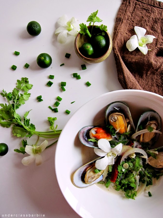 quick mussel recipe