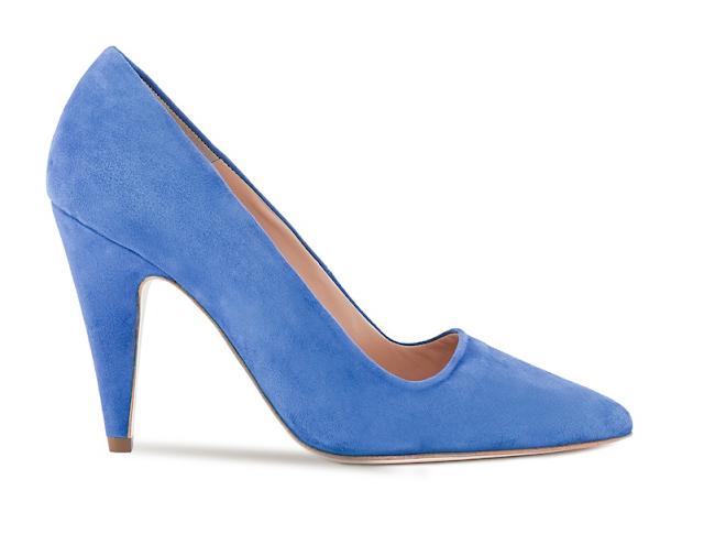 Rebajas SS 2015 complementos zapatos salón azul
