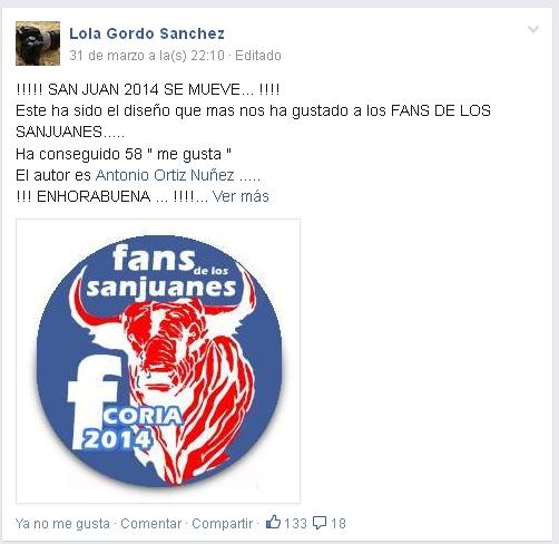 Fans de los Sanjuanes (FaceBook)