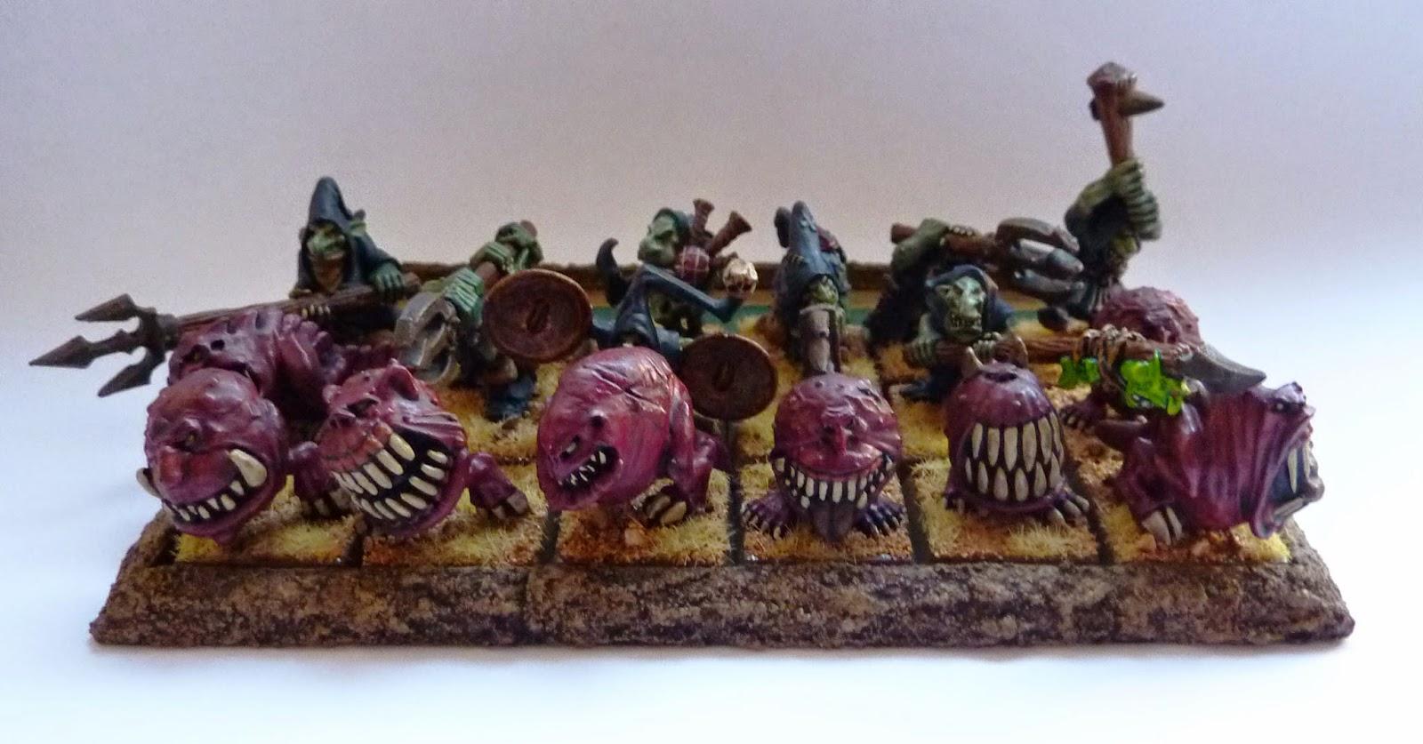 Warhammer Fantasy - Orcs & Goblins Night Goblin Squig Herd