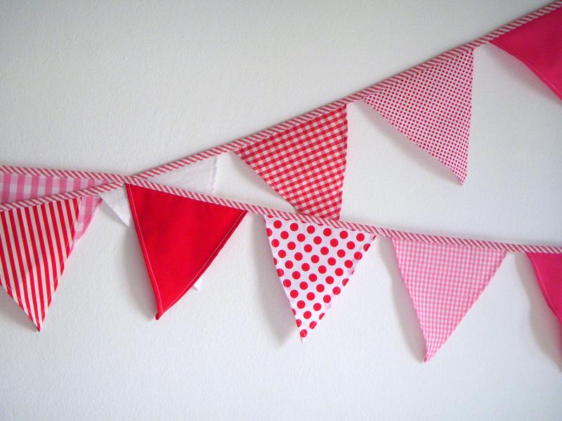 Surprising parties guirnaldas para decorar - Guirnaldas de tela ...