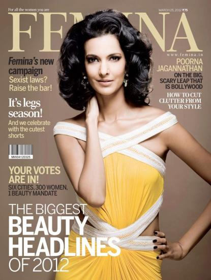 Femina Poorna Jagannathan - Poorna Jagannathan on the Cover of Femina