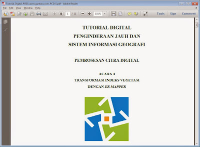 Transformasi Indeks Vegetasi dengan ER Mapper www.guntara.com