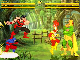 Superheroes 2000 Mugen v4 Avengers vs JLA