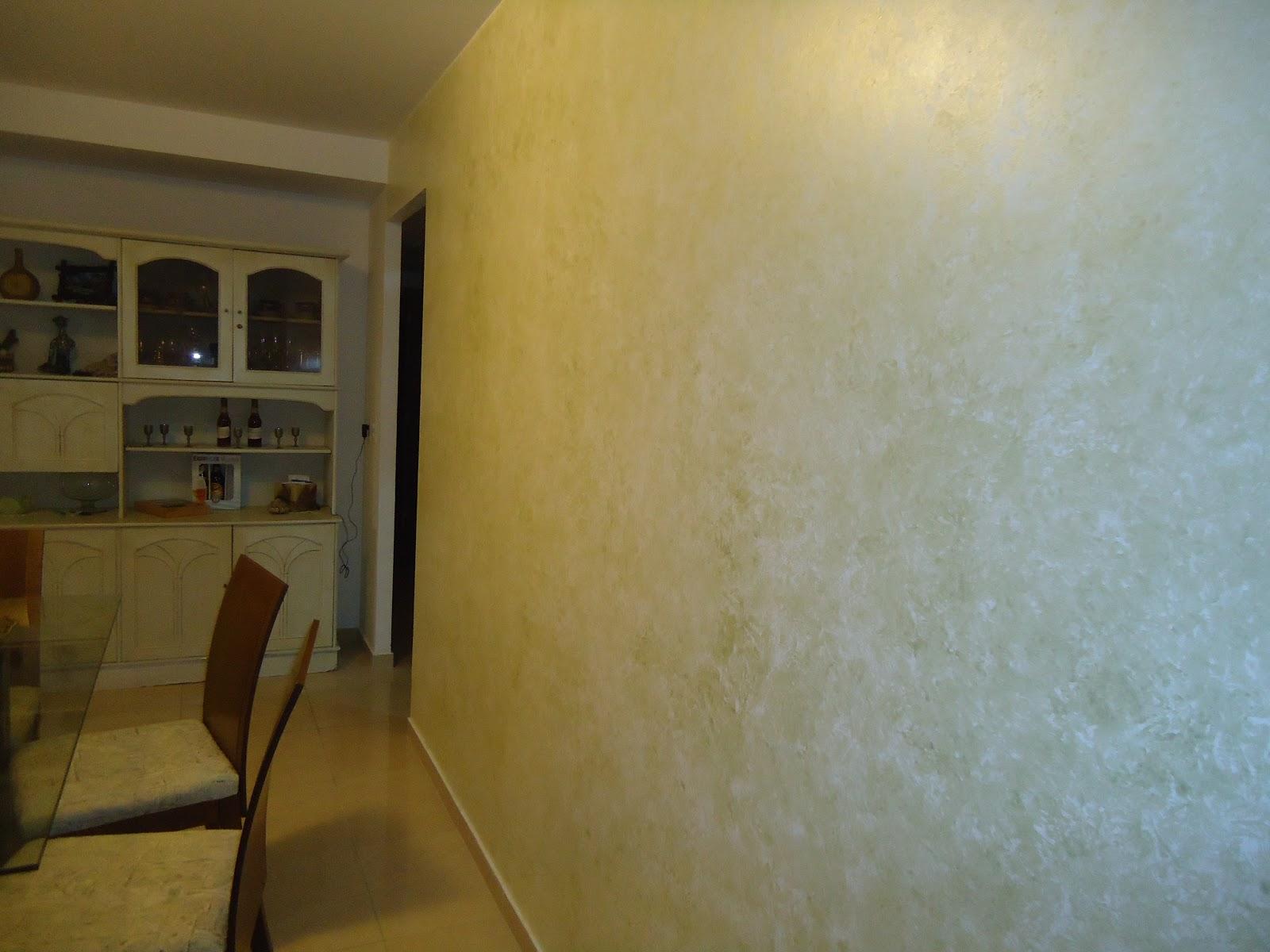 Lar de Arteira Pintura de parede da sala de jantar