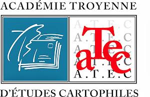 Logo de l'Académie troyenne d'études cartophiles