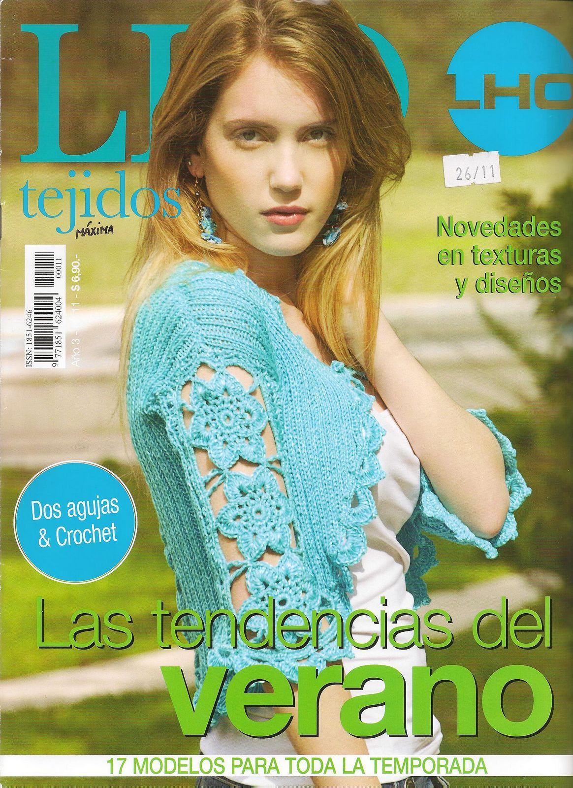 Revista: LHO Tejidos 11