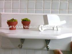 Para o banheiro ficar mais charmoso!