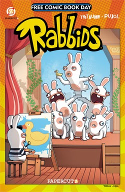 rabbids free comic book day