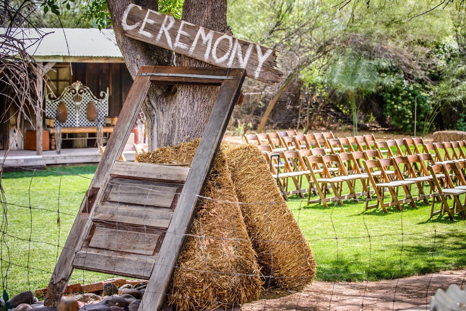 rustic arizona wedding