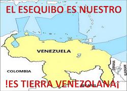 EL ESEQUIBO ES TIERRA VENEZOLANA