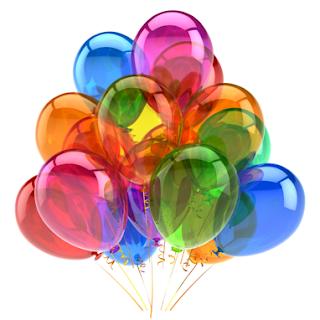 doğum günü için balon