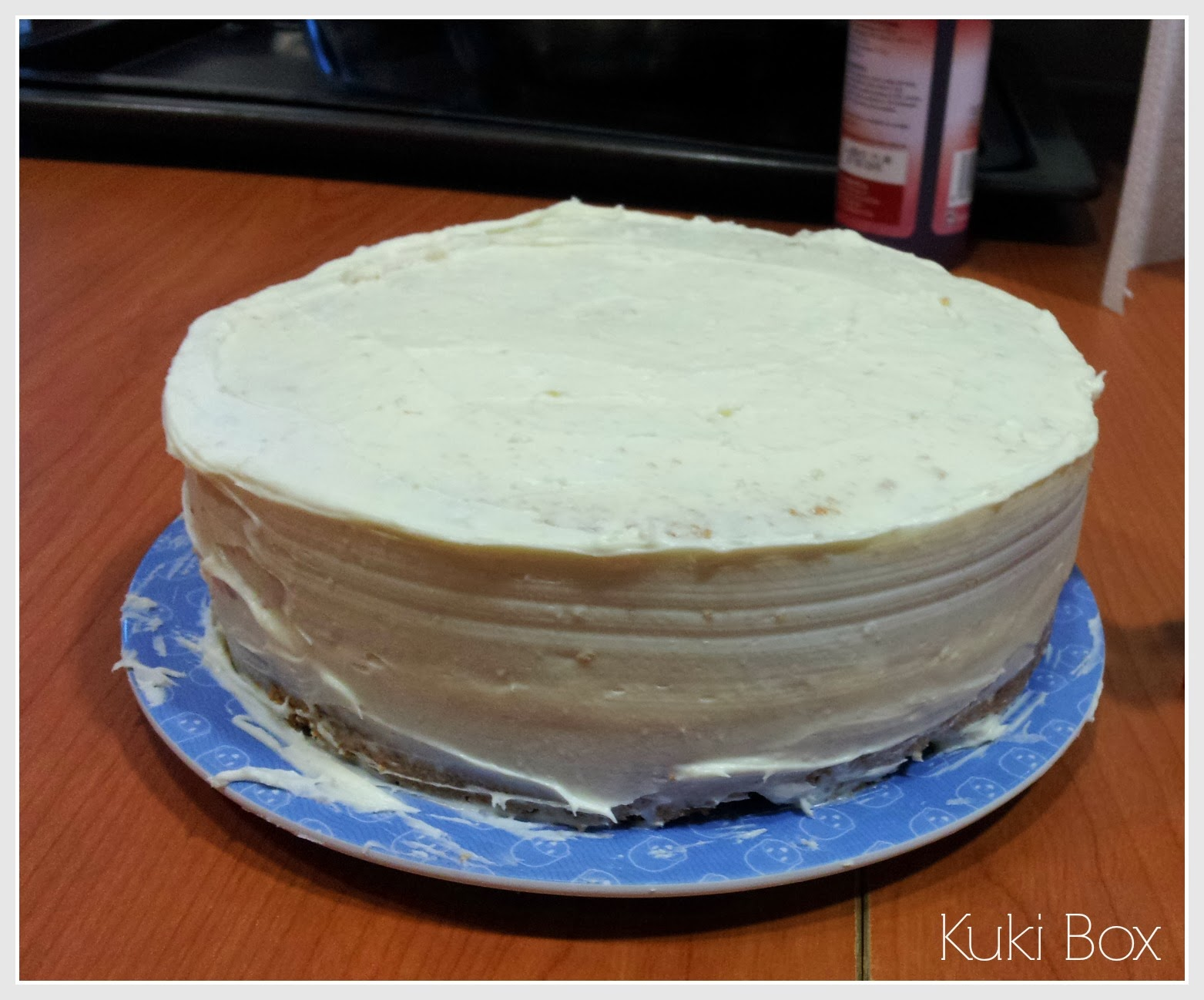 KukiBox - Tarta gominolas - buttercream