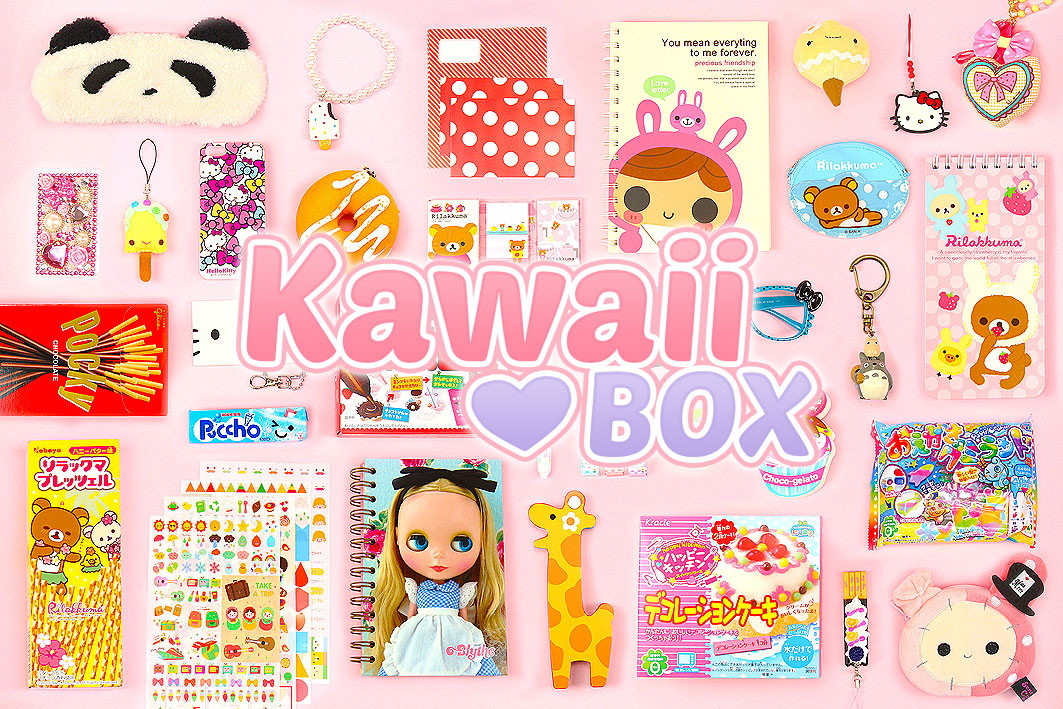 Kawaii Box is a monthly subscription service that delivers cute stationery, snacks, phone charms, DIY accessories and more from Japan and Korea!