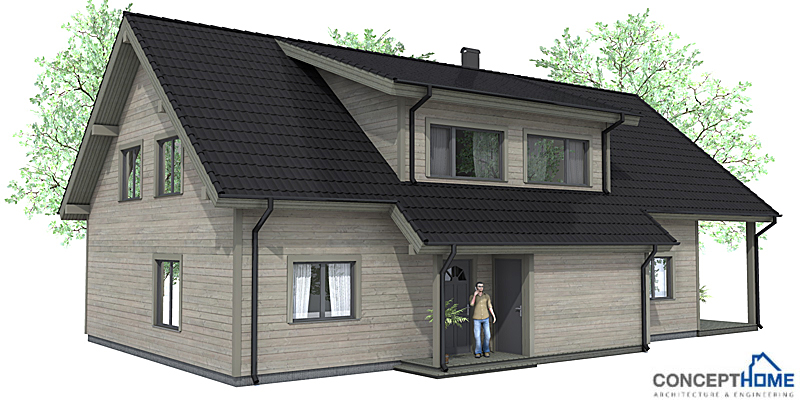Affordable home plans economical house plan ch35 for Reasonable house plans