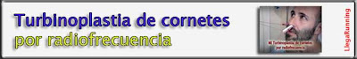 Turbinoplastia cornetes radiofrecuencia