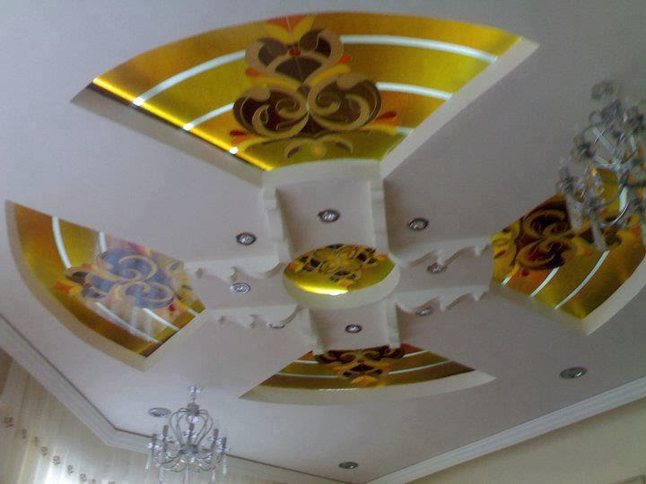 New d coration faux plafond en platre moderne 2014 for Dicor platr maroc