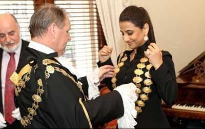 Vidya Balan gets honoured in Melbourne