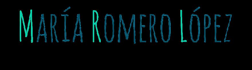 María Romero López AIG1 '14