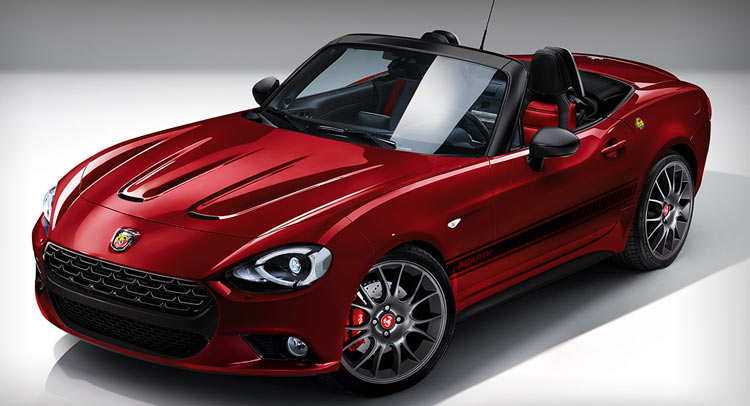abarth 124 spider will use a tuned 1 4l turbo racing. Black Bedroom Furniture Sets. Home Design Ideas
