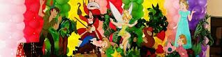 Peter Pan Children's Parties Decoration