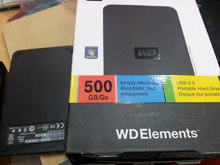 Portable HDD, palsu, tiruan, penipuan