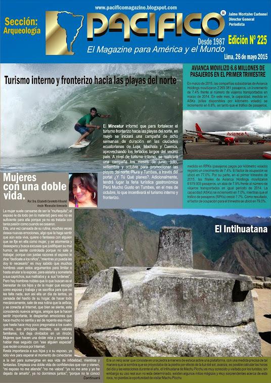 Revista Pacífico Nº 225 Arqueología