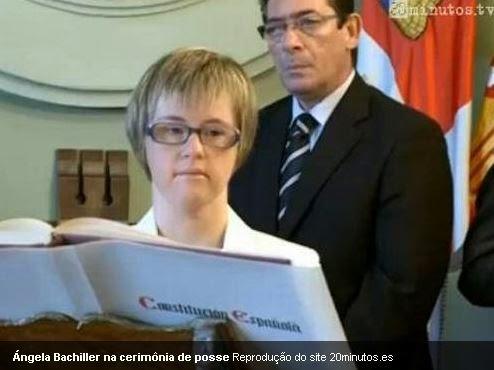 A Espanha tem a primeira vereadora com #SíndromeDeDown