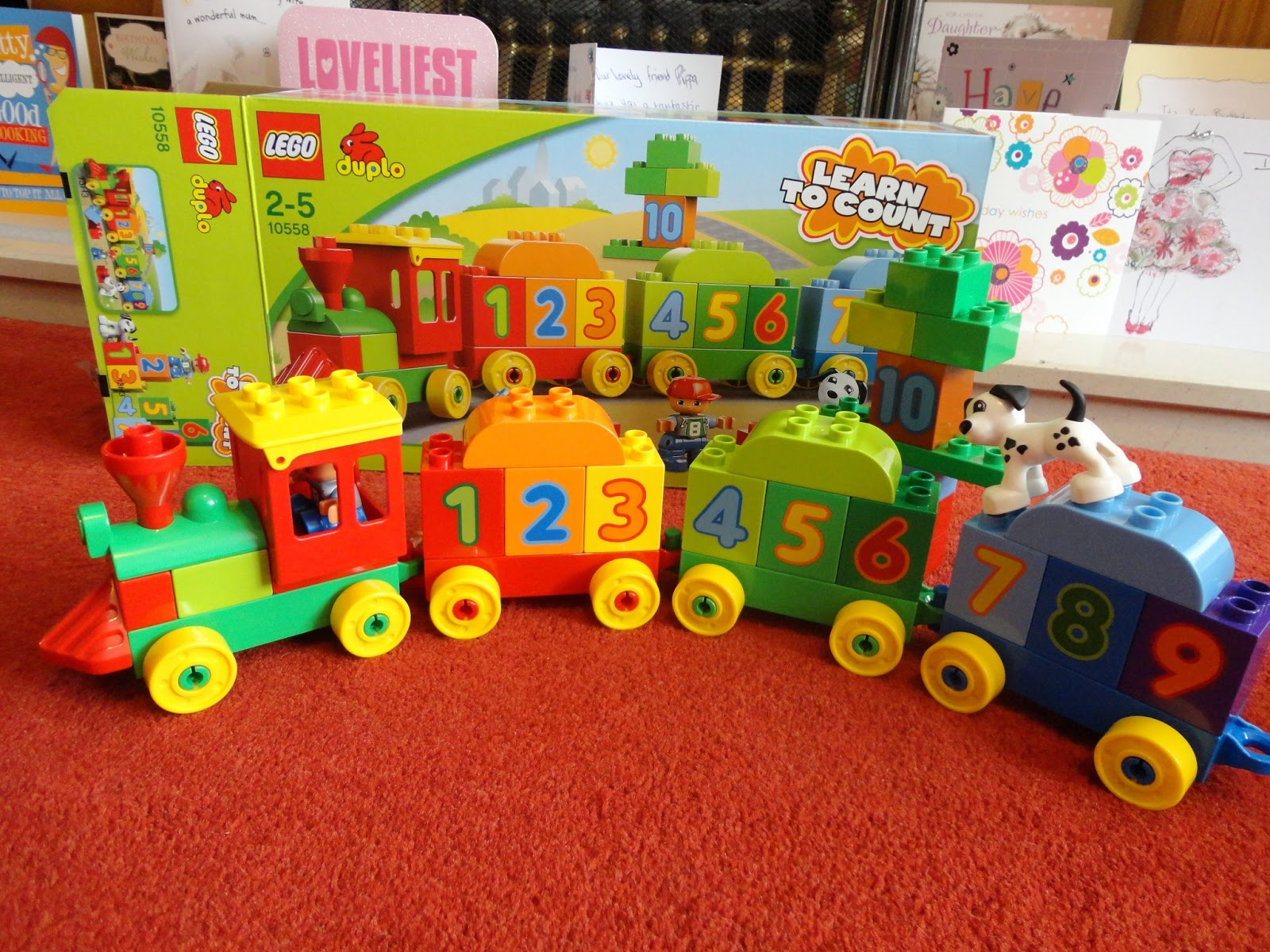 a mothers ramblings the number train from lego duplo review. Black Bedroom Furniture Sets. Home Design Ideas