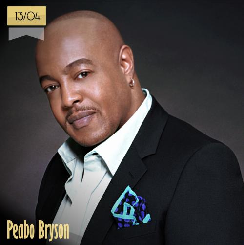 13 de abril | Peabo Bryson - @PeaboBryson2 | Info + vídeos