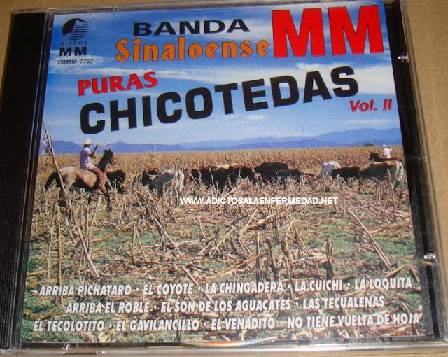 Banda MM - Puras Chicoteadas Vol. 2 CD Album
