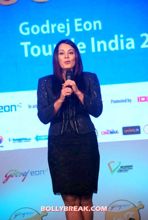 Minissha Lamba - Celebs grace the Godrej Eon&#39;s &#39;Tour De India&#39; cycling event