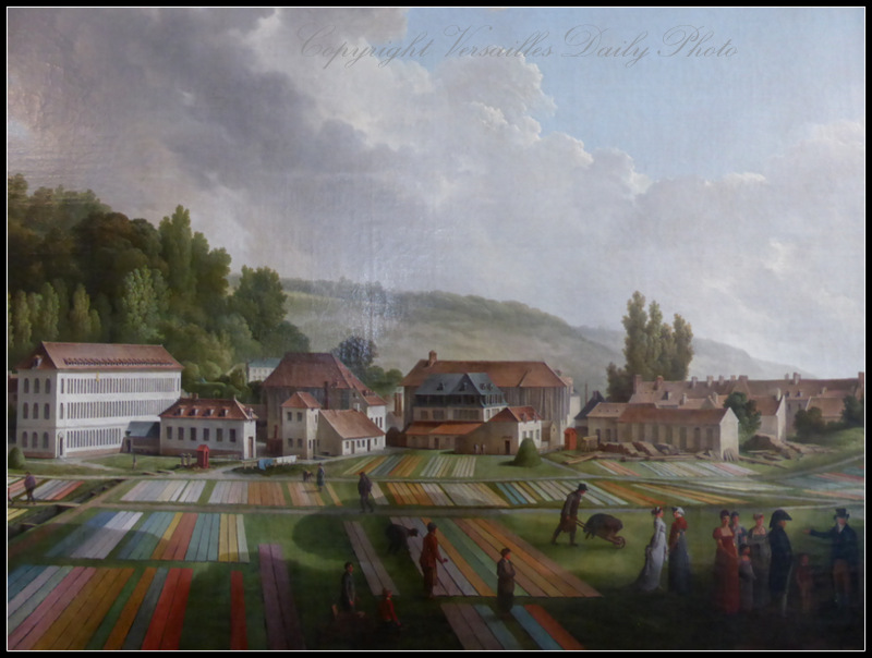 Toile de Jouy manufacture in 1807 by Huet