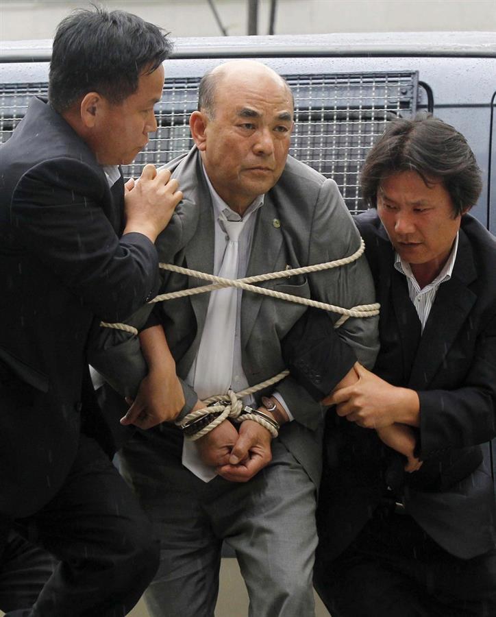 Detenido activista surcoreano al cruzar la frontera en Phanmunjom  602292_10150914232202344_1164095139_n