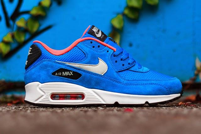air max azul electrico