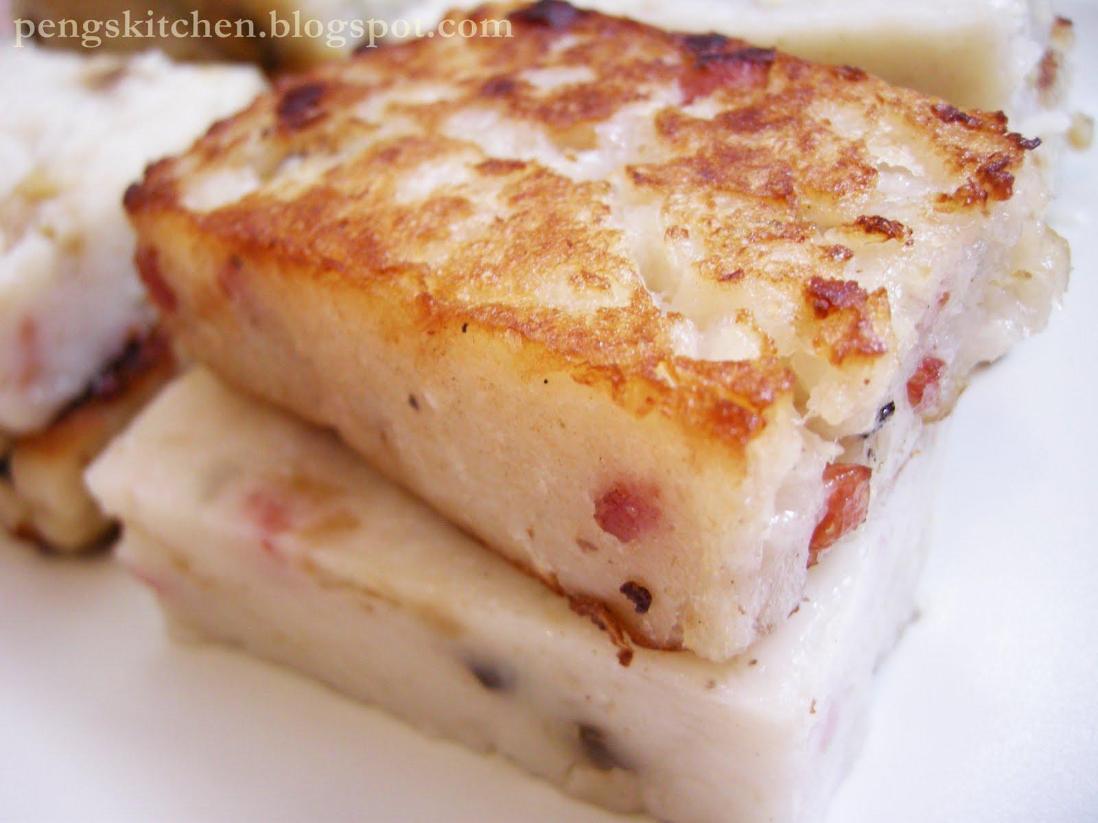 Peng S Kitchen Steamed Radish Cake